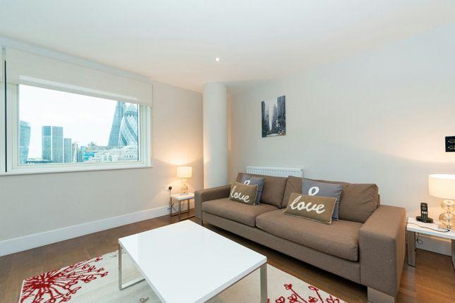 Living Room of Crawford Building, Aldgate, London E1