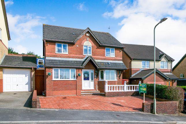Thumbnail Detached house for sale in Llwyn Helig, Kenfig Hill, Bridgend
