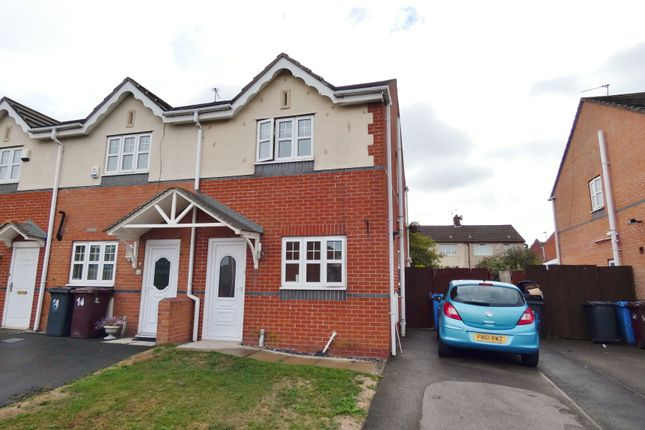 Thumbnail End terrace house for sale in Gorleston Way, Kirkby, Liverpool