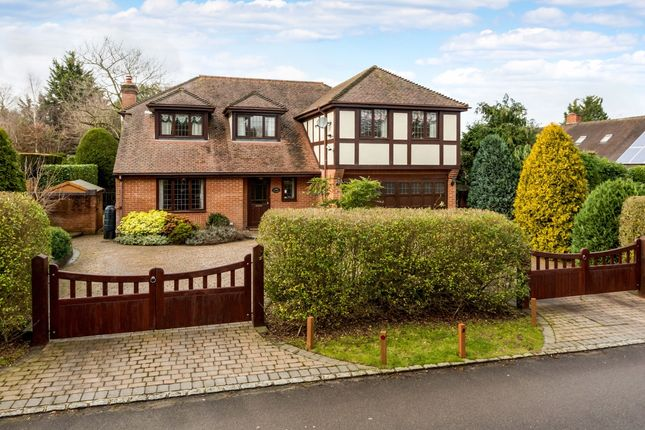 Thumbnail Detached house to rent in Sandisplatt Road, Maidenhead
