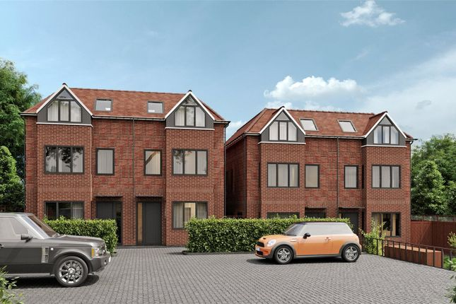 Thumbnail 3 bed semi-detached house for sale in Hartley Down, Purley, Surrey