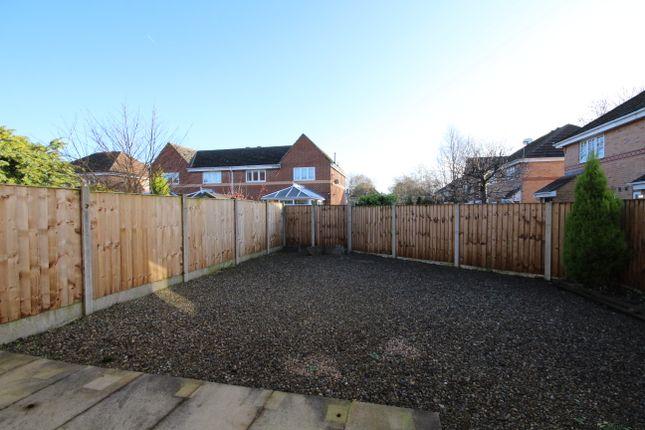 Rear Garden of Woodburn Grove, Penwortham, Preston PR1