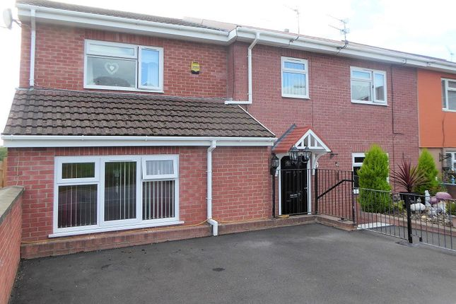 Thumbnail Semi-detached house for sale in St. Illtyds Road, Cefn Glas, Bridgend.