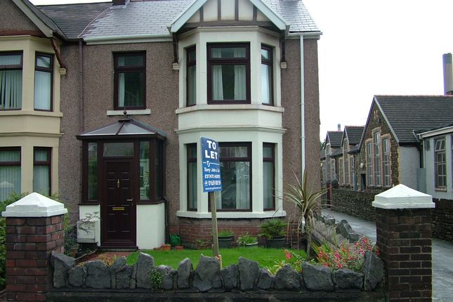 Thumbnail Semi-detached house to rent in Margam Road, Margam