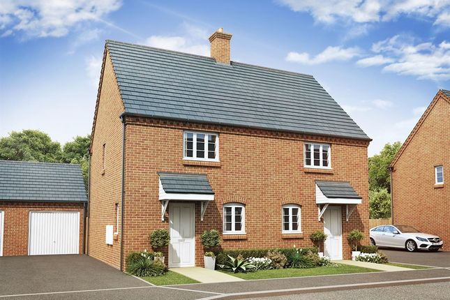"Thumbnail End terrace house for sale in ""The Sutton"" at Ashton Road, Roade, Northampton"