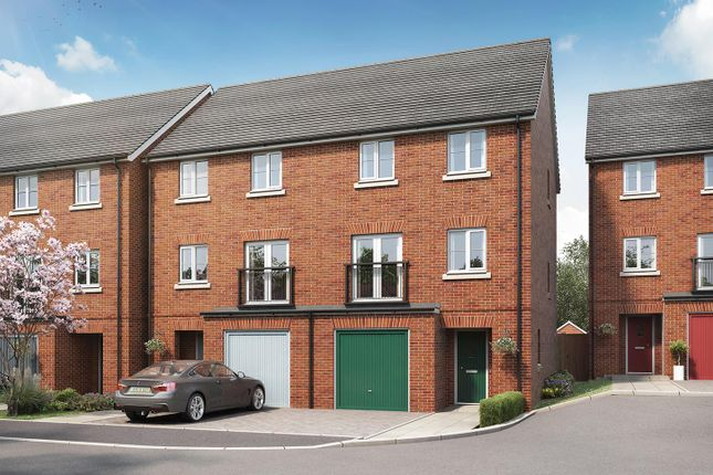 """Thumbnail End terrace house for sale in """"The Bloomfield"""" at Tithe Barn Lane, Exeter"""