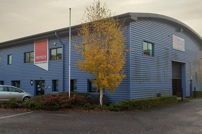 Thumbnail Light industrial to let in Unit 22, Priory Tec Park, Priory Park West, Hessle, East Yorkshire