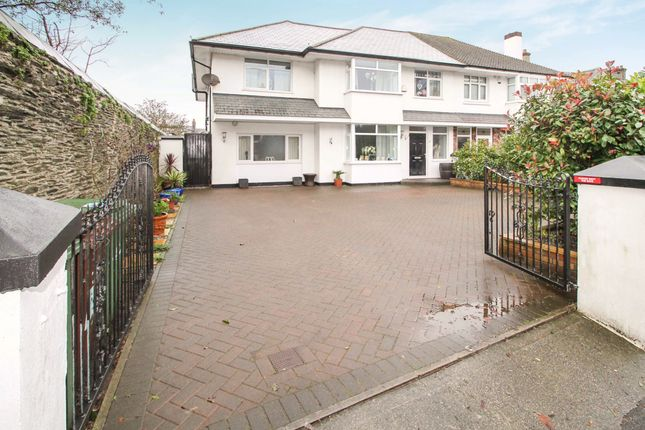 Thumbnail Semi-detached house for sale in Milehouse Road, Stoke, Plymouth
