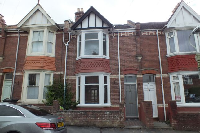Thumbnail Terraced house to rent in East Grove Road, St Leonards, Exeter, Devon