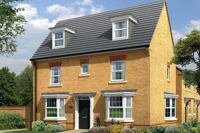 Thumbnail Detached house for sale in The Hertford, St Mary's Gate, Stafford