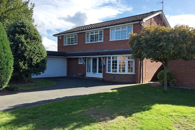 Thumbnail Detached house for sale in Grosvenor Way, Walton On The Hill, Stafford