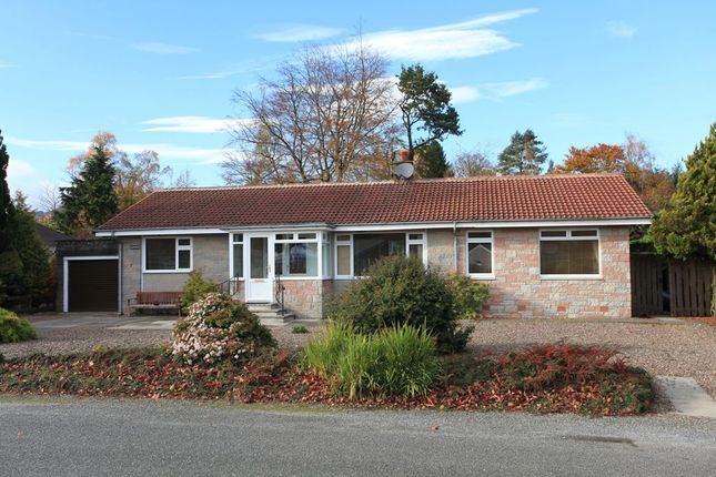 Thumbnail Detached bungalow for sale in Polinard, Comrie