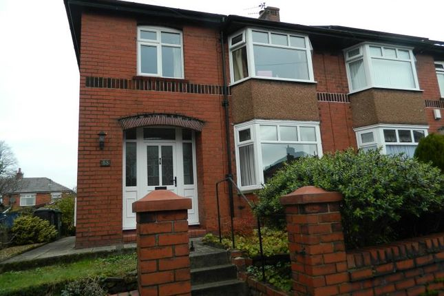 Thumbnail Semi-detached house to rent in Hillside Crescent, Bury