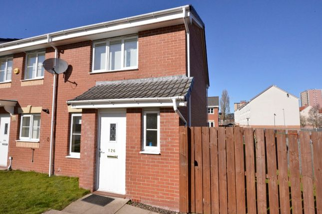 Thumbnail End terrace house for sale in Newhouse Road, Glasgow