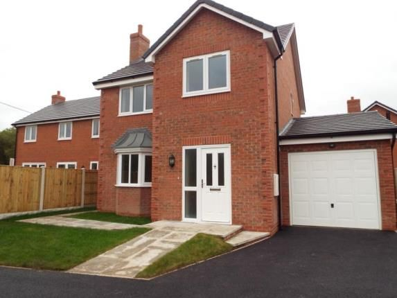 Thumbnail Detached house for sale in Alltami Heath, Alltami Road, Buckley