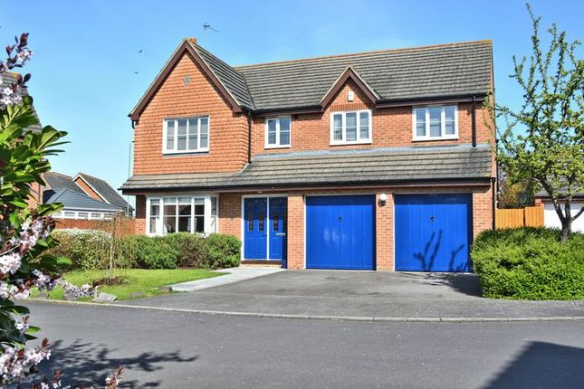 Thumbnail Detached house for sale in North Bush Furlong, Didcot
