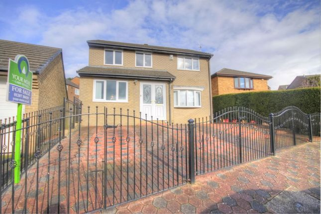 Thumbnail Detached house for sale in Chepstow Close, Shotley Bridge, Consett