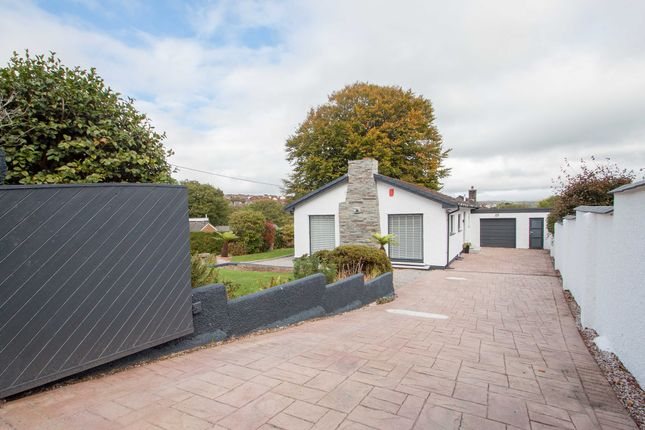 Thumbnail Detached bungalow for sale in Woodford Road, Plymouth