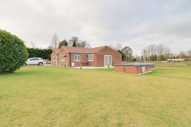 Thumbnail Detached bungalow for sale in Turbary, Epworth, Doncaster