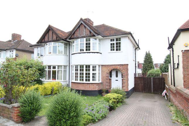 Thumbnail Semi-detached house to rent in Green Lane, Chislehurst, Kent