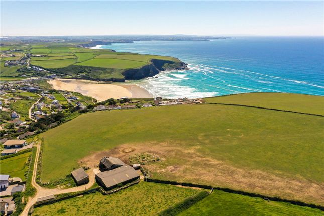 Thumbnail Land for sale in High Cove Farm, Trenance, Mawgan Porth, Newquay