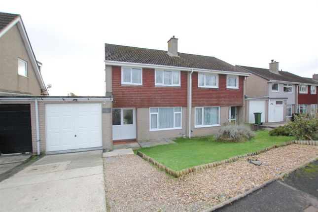 3 bed semi-detached house for sale in Yealmpstone Drive, Plympton, Plymouth PL7