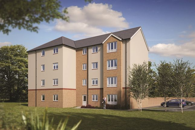 "Thumbnail Flat for sale in ""The Fairfield "" at Craigmuir Way, Bishopton"