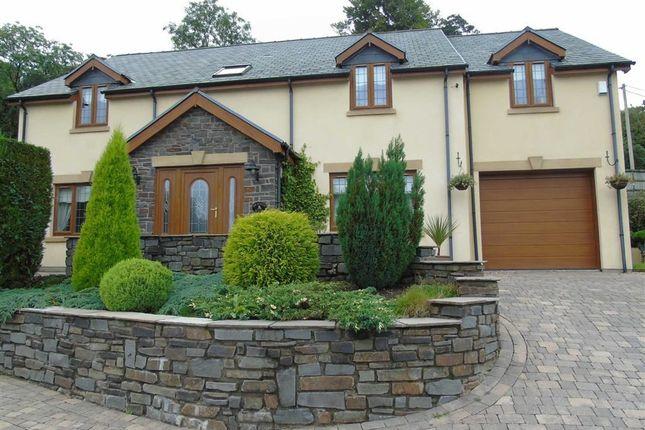 Thumbnail Detached house for sale in Bracken House, Llannon, Llanelli