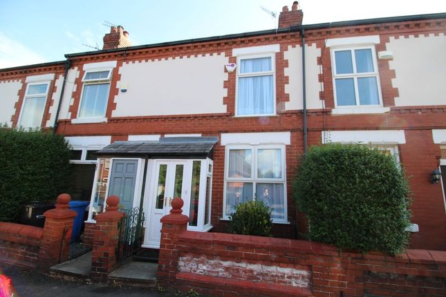 Thumbnail Terraced house to rent in Bulkeley Road, Cheadle