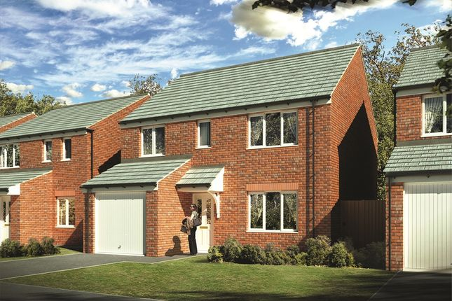 """Thumbnail Detached house for sale in """"The Crathorne"""" at Laughton Road, Thurcroft, Rotherham"""