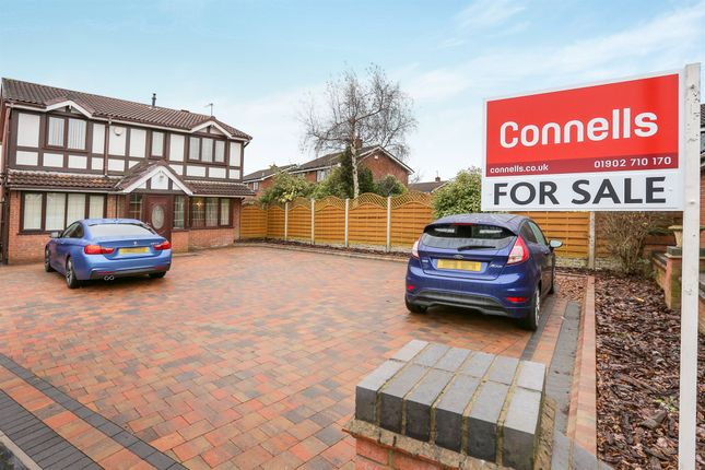 Thumbnail Detached house for sale in Kingfisher Grove, Coppice Farm, Willenhall