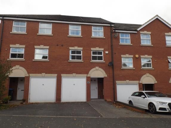Thumbnail Terraced house for sale in Tungstone Way, Market Harborough, Leicestershire