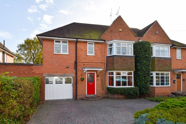 Thumbnail Semi-detached house for sale in Meadow Brook Road, Bournville Village Trust, Birmingham