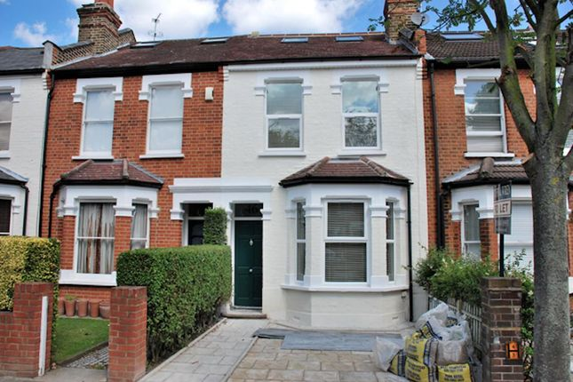 Thumbnail Terraced house to rent in Cranmer Avenue, Ealing, London