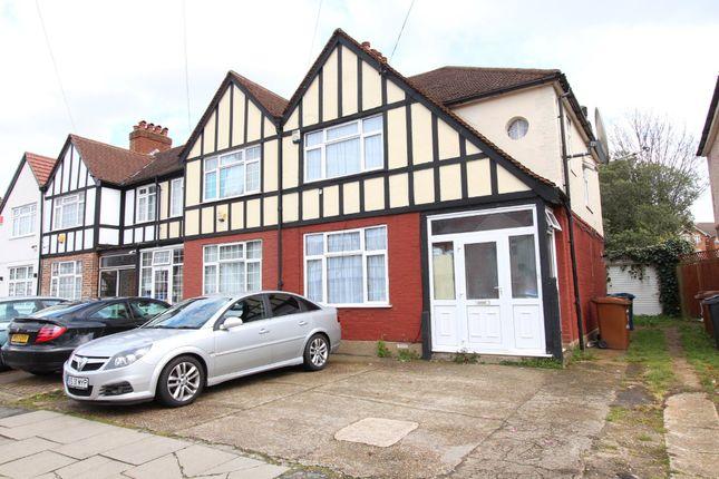 3 bed semi-detached house to rent in Hibbert Road, Harrow HA3