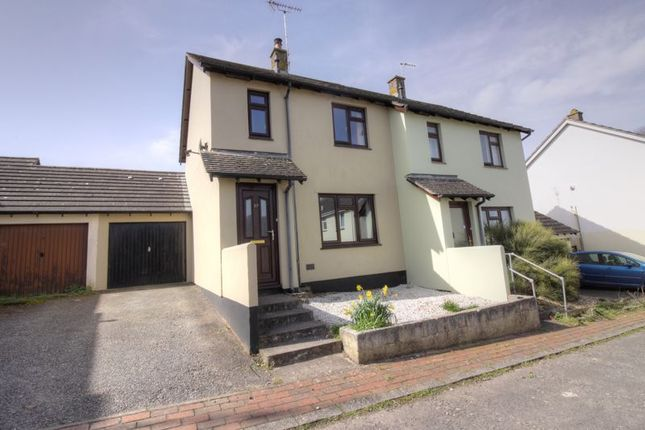 Thumbnail Semi-detached house for sale in Butts Way, North Tawton