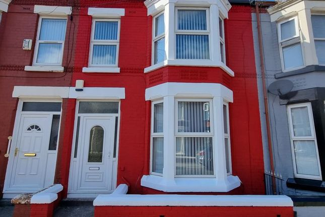 Thumbnail Terraced house to rent in Ennismore Road, Old Swan, Liverpool