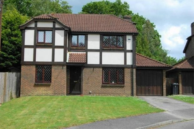 Thumbnail Detached house to rent in Britts Farm Road, Buxted, Uckfield