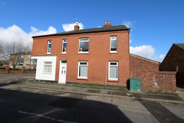Thumbnail End terrace house to rent in Cromwell Road, Rushden