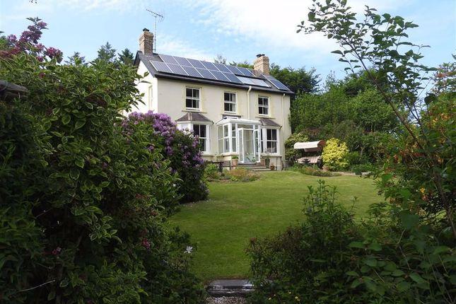 Thumbnail Detached house for sale in Llangranog Road, Coed Y Bryn, Ceredigion