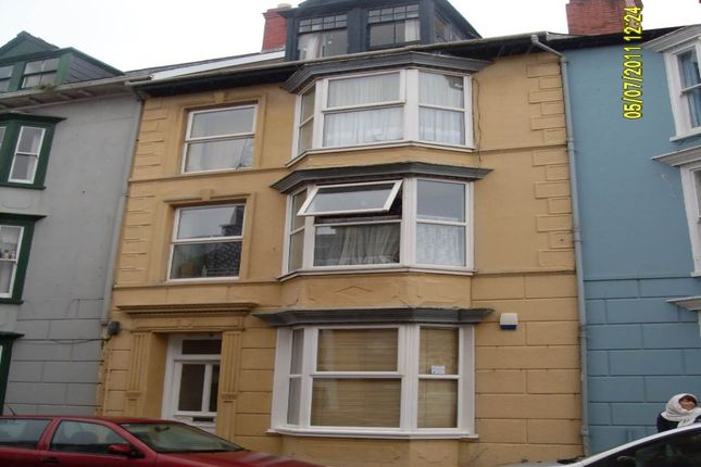 Thumbnail Flat to rent in Flat 3, 17 Portland Street, Aberystwyth