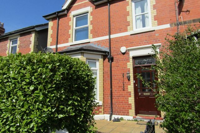 Thumbnail Terraced house to rent in Grove Park West, Colwyn Bay