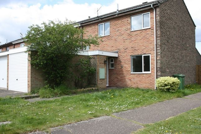 Thumbnail End terrace house to rent in Fairfields, Thetford