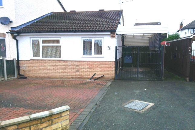 Thumbnail Bungalow to rent in Luccombe Drive, Alvaston, Derby
