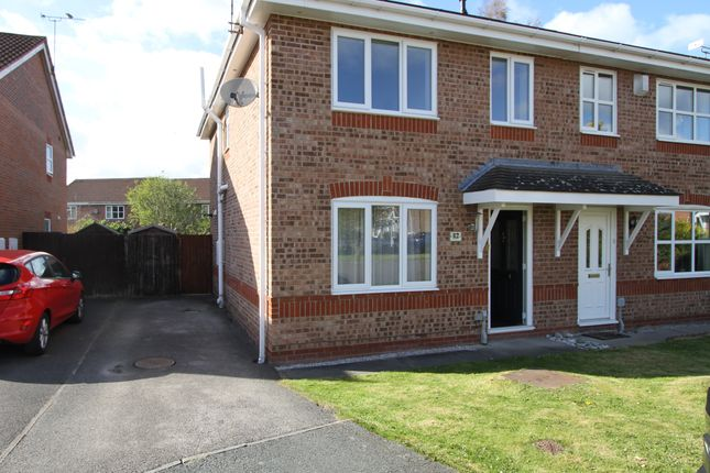 Thumbnail Semi-detached house to rent in Echo Close, Saltney, Chester
