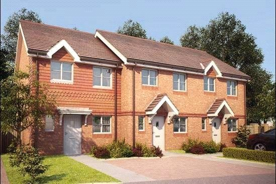 Thumbnail Semi-detached house for sale in Bagshot Road, Knaphill, Woking GU212Rn