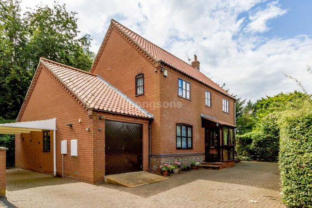 Thumbnail Detached house for sale in North Pickenham Road, Swaffham