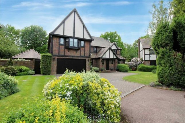 Thumbnail Detached house for sale in Carrington Close, Arkley, Hertfordshire