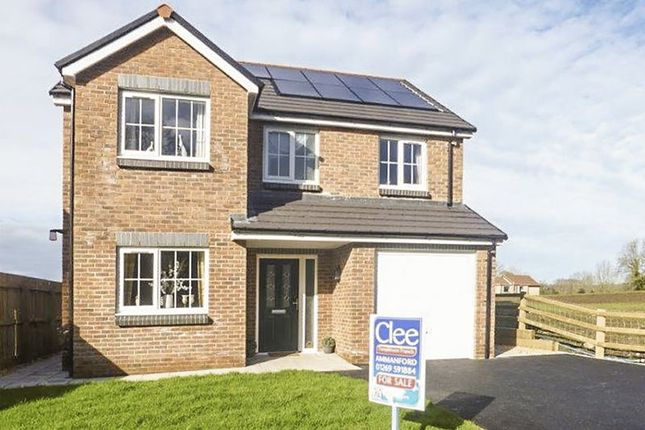 Thumbnail Detached house for sale in Plot 7, Colonel Road, Ammanford
