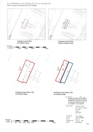 Plot Details of Chisbury Green, Clifton, Nottingham NG11